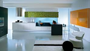 Pedini Q2 Kitchen  new Q2System kitchen: glass and wood decor