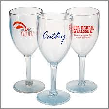 acrylic plastic wine glasses imprinted acrylic wine glass larger photo email a friend stunning plastic wine acrylic plastic wine glasses