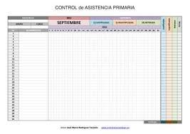 Formato De Asistencia Del Personal 2018 2019 Registro Editable Excel Word Para El Control De