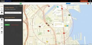 Crime Maps University Of California San Francisco Police