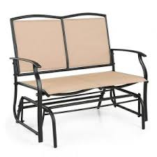 chair glides home depot. beige ikayaa person patio swing glider bench chair lovdock photo with excellent adirondack plans glides home depot b