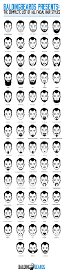 Mens Hair Types Chart 68 Best Facial Hair Styles For Men You Should Try At Least