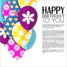Birthday Greeting Template Free Download Digitalhustle Co