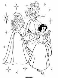 Disney Princess Printing Coloring Pages L L L