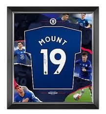 Jan 10, 1999 place of birth: Mason Mount Signed Framed Shirt Chelsea Fc Genuine Signature Aftal Coa A Ebay