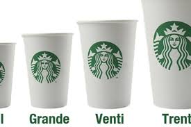 Starbucks Cup Size Chart Starbucks To Launch A 31 Oz Big Gulp Of Coffee The Trenta