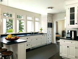 Granite Countertops And Backsplash Ideas Simple Black Granite Countertops With White Cabinets Kitchen Ideas Black