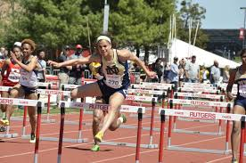 junior jade barber placed first in the women s 100m hurdles at the stanford invite with a track and field