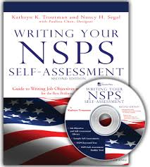 2Nd Edition Writing Your Nsps Self Assessment: Guide To Writing ...