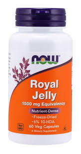 NOW Supplements, <b>Royal Jelly 1500 mg</b> with 10-HDA (Hydroxy-D ...