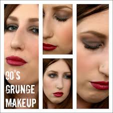 makeup ideas grunge makeup tutorial on trend modern take on 90u0026 39