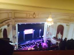 View From The Mezzanine Picture Of The Wilbur Theatre