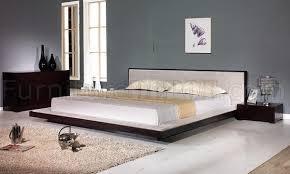 modern platform bedroom sets. Wenge Finish Modern Bedroom Set W/Platform Bed Modern Platform Bedroom Sets P