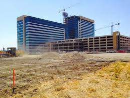 a 1 5 million square foot campus is under construction in richardson considered already the biggest office development underway in north texas
