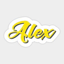 Alex - Alex - Sticker | TeePublic