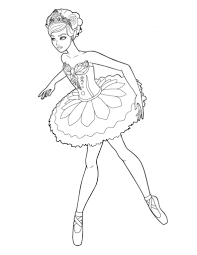 Just Arrived Ballet Coloring Pages To Print Special Stunnin 18486
