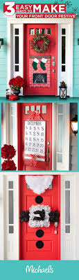 Best 25+ DIY Christmas door decorations ideas on Pinterest | Diy ...