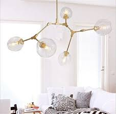 glass bubble chandelier lighting. cac lindsey adelman globe branching bubble chandelier 110v 220v modern light lightinggold clear glass lighting