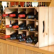 wine rack storage crate