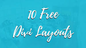 10 Free Divi Layouts You Need To Download Today Divi Framework