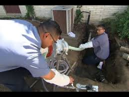 how to repair a sewer pipe under a concrete slab this old house you