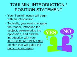 toulmin model of argumentation toulmin introduction
