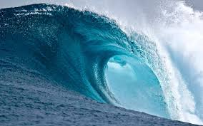 wave wallpaper for walls big waves blue . wave wallpaper for walls ...