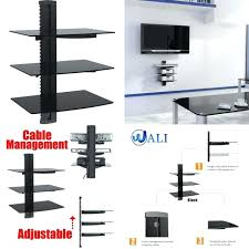 large floating shelves 3 floating shelves large wall mount tempered glass accessories player large floating shelves