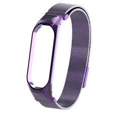 <b>Сетчатый браслет Metal Mesh</b> для Xiaomi Mi Band 4 Violet ...