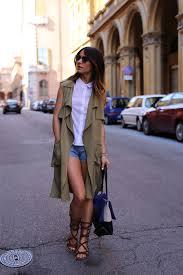 zara sleeveless coat
