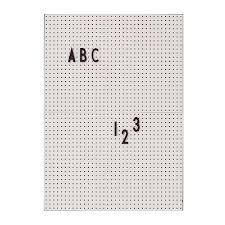 White peg boards Tool Message Board A4 Grey Please Order Letters Separately Multicraft Plastics On The Wall This Modern Life