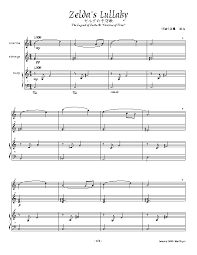 legend of zelda piano sheet music sheet music and scores