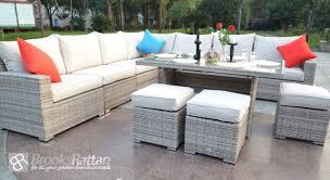 how durable is rattan garden furniture