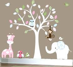 baby wall decals baby room decals for walls jungle wall decal nursery white tree wall decal