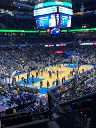 Oklahoma City Thunder Arena Seating Chart Chesapeake Energy Arena Level 2 Cox Club Level Home Of