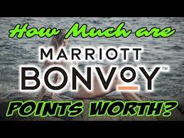 Marriott New Award Chart Marriott Bonvoy New Award Chart Youtube