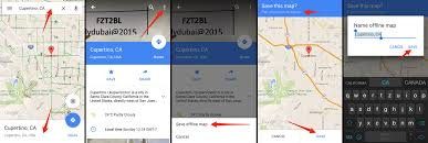 how to use google maps offline mode on ios