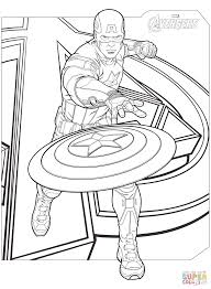 Small Picture Avengers Captain America coloring page Free Printable Coloring Pages
