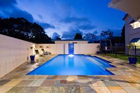 blue glass pebble company glass pebble swimming pool interior queensland australia blue glass pebble company