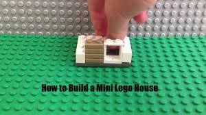 Real Life Lego House How To Build A Mini Lego House Youtube