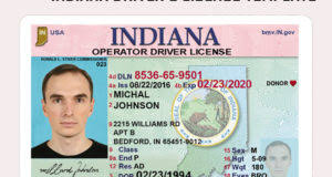 Template Psd vi Us Islands Virgin Driving License