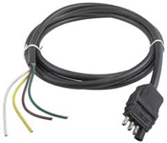 recommended replacement wiring for dutchman duck wesbar 4 pole flat connector w jacketed cable trailer end 8