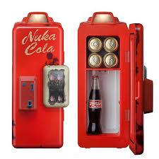Fallout 4 Nuka Cola Vending Machine Interesting Fallout Nuka Cola Machine Mini Refrigerator ThinkGeek