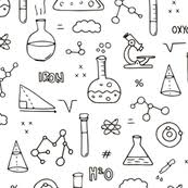 Science Themed Backgrounds Science Fabric Wallpaper Gift Wrap Spoonflower