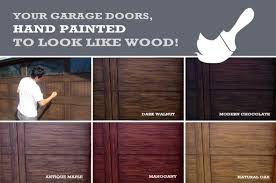painted wood garage door. Beautiful Door Instantly Transform The Look Of Your House And Add Major Curb Appeal With  Our Faux Wood Painting For Garage Doors With Painted Garage Door R