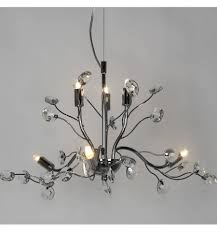 Hanglamp Met Takken En Glas Bladeren Grace Kosilampnl