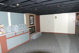 unfinished basement ceiling. Image Of: Wall Unfinished Basement Ceiling Ideas S