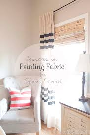 lessons in painted fabric diy painted curtains paintedcurtains southernrevivals com