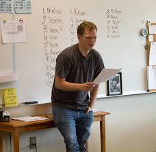 woodland high language arts students write and present their  essay topics were varied including beliefs in faith childhood experiences and the importance of