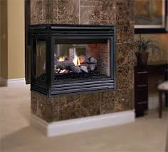 procom 24 in vent free dual fuel gas fireplace logs with